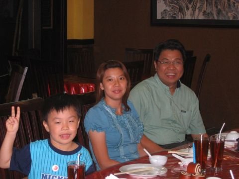 Brian and family